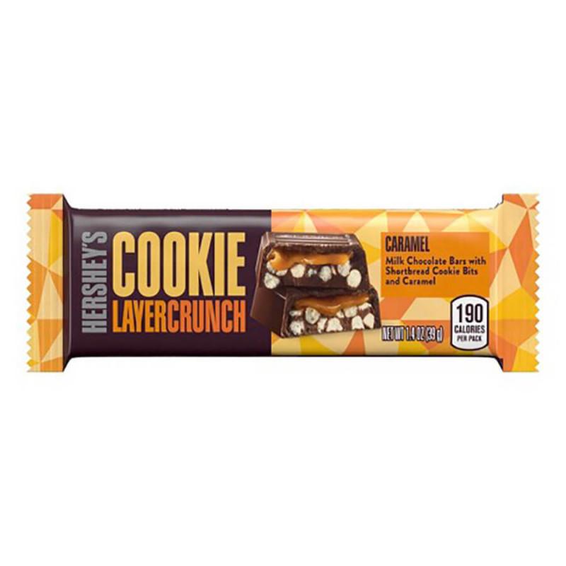 Батончик «Hershey's Cookie Layer Crunch Caramel» 39 гр