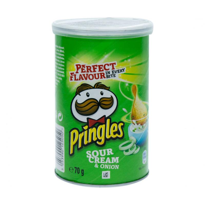 Pringles Сметана и лук 70 гр