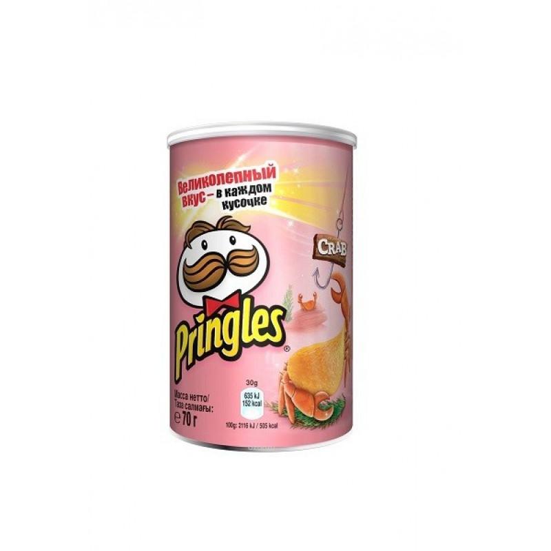 Pringles со вкусом Краба 70 гр SALE