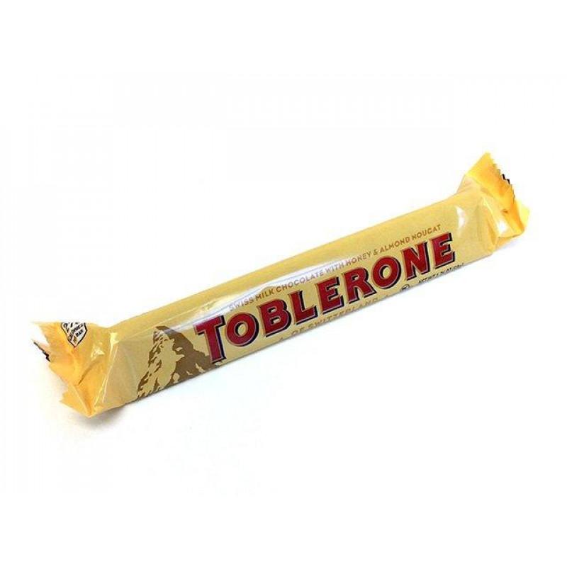 Шоколад Тоблерон молочный с медом и нугой 100 г