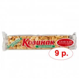 Батончик Козинак арахисовый 60гр УЦЕНЕННЫЙ ТОВАР