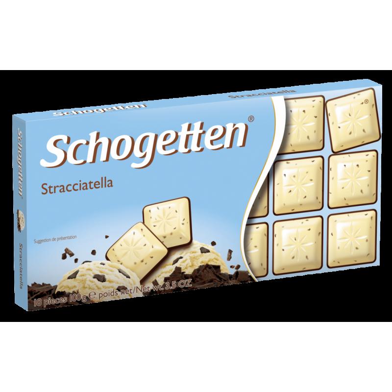 Шоколад Schogetten Stracciatella 100 ГР