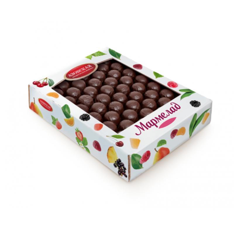 Мармелад желейный «Двухслойный в шоколаде»  1,5 кг