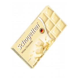 Schogetten / White белый шоколад, 100 г SALE ГОДЕН ДО 30.11.21Г