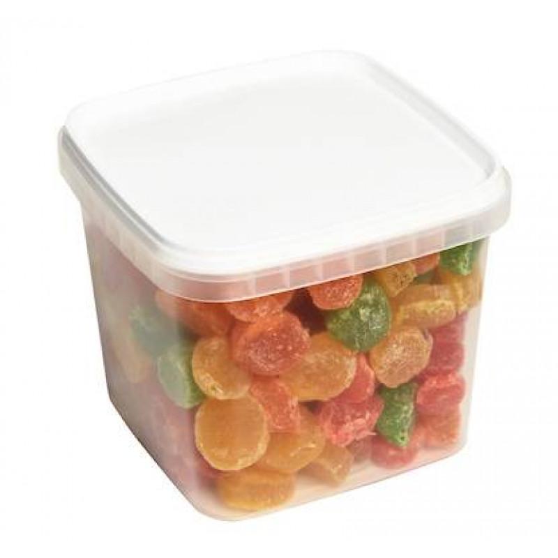 Цукаты фруктовые кубики 950гр
