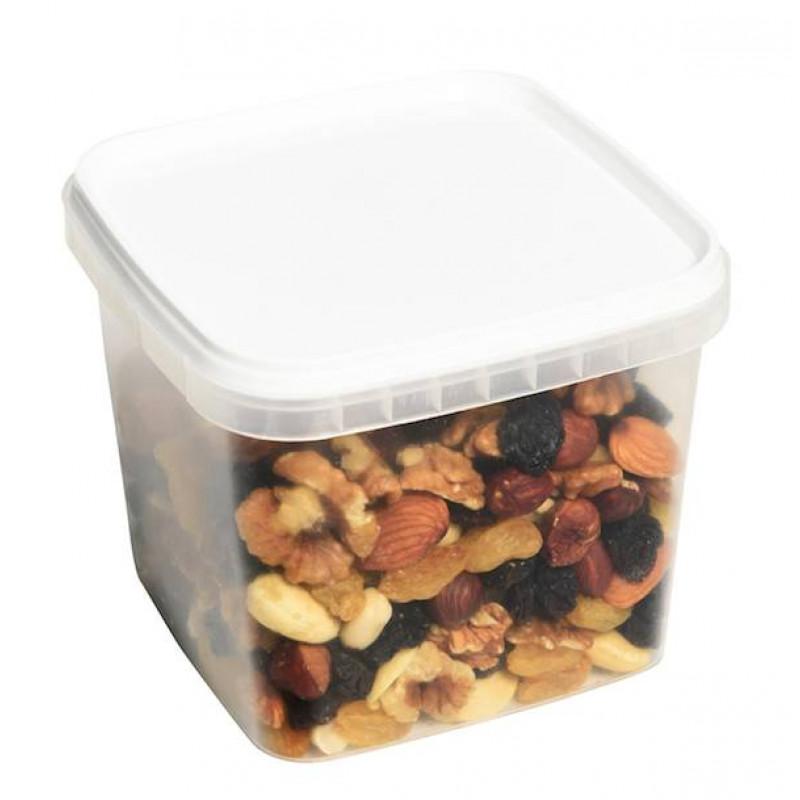 Микс из отборных орехов (фундук, изюм джамбо золотой, грецкий, миндаль, кешью, арахис) 600гр
