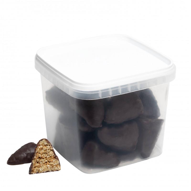 Нежное пирожное Пирамидка (кунжут, карамель, семечки, шоколад) 600гр