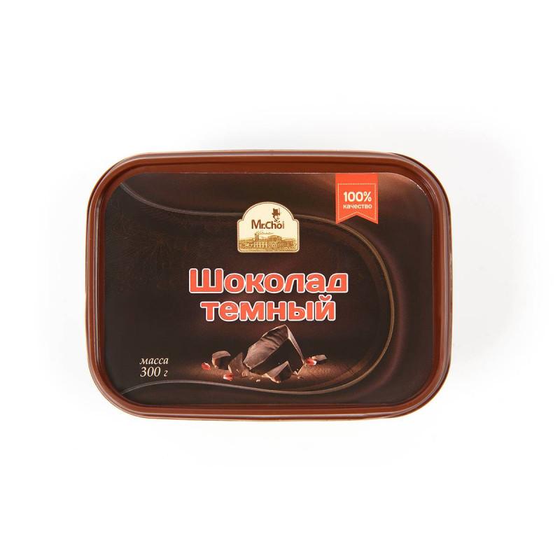 "Шоколад темный ""Мистер Чо"" 300 гр (литой)"