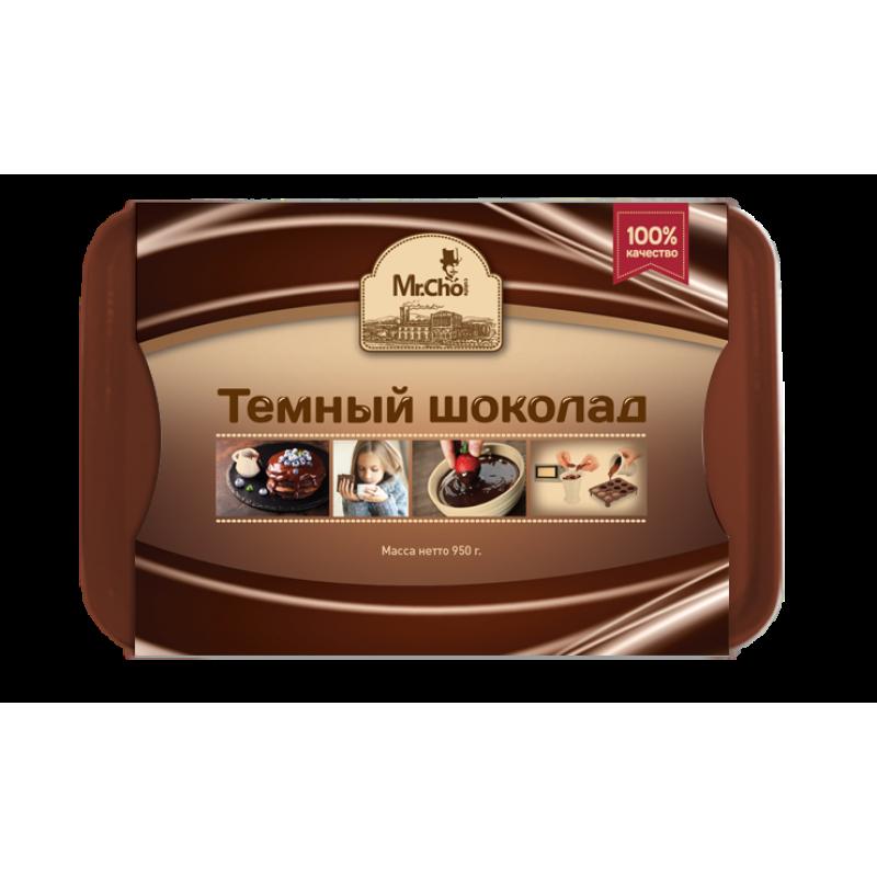 "Темный шоколад ""Мистер Чо""  950 гр. (литой)"