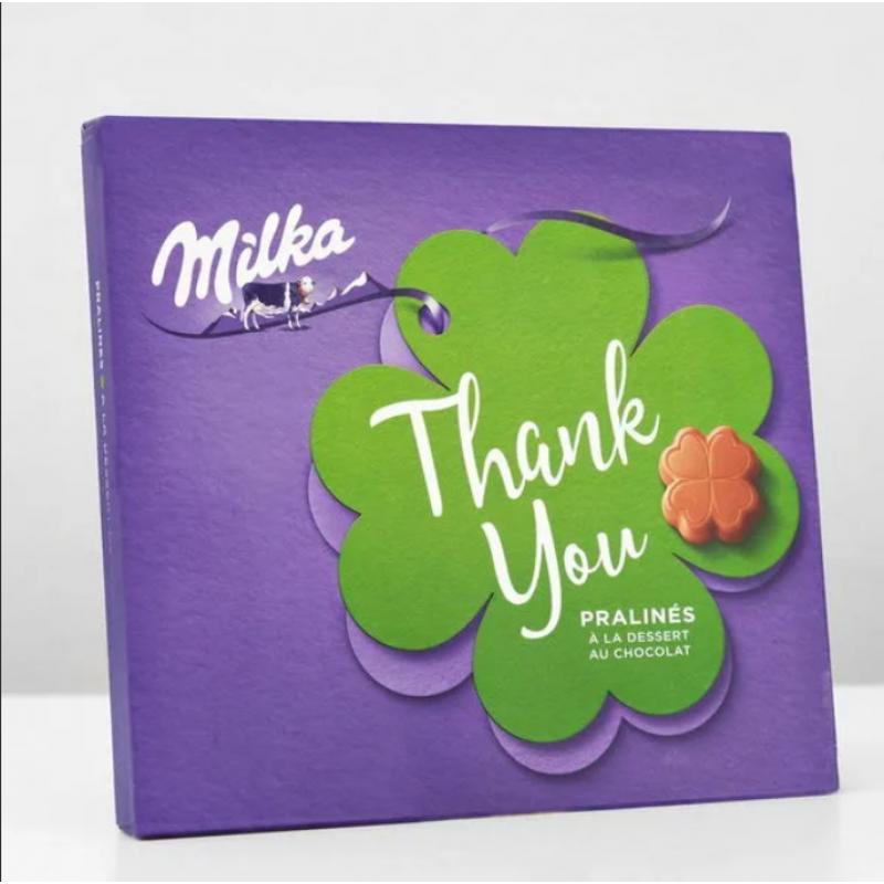 Подарочный набор шоколада Milka Good Luck Pralines